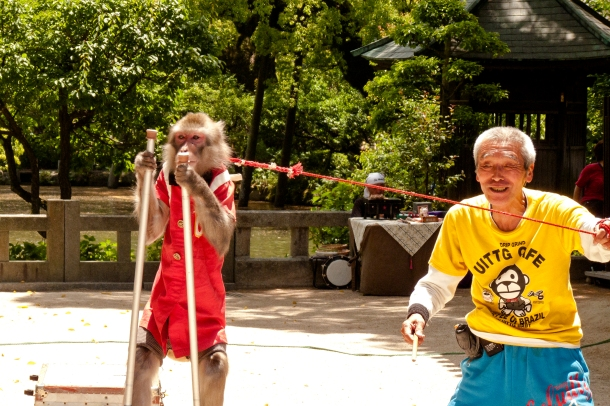 Street Performer: Dazaifu, Japan