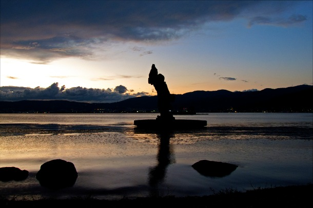 Lake Suwa_end